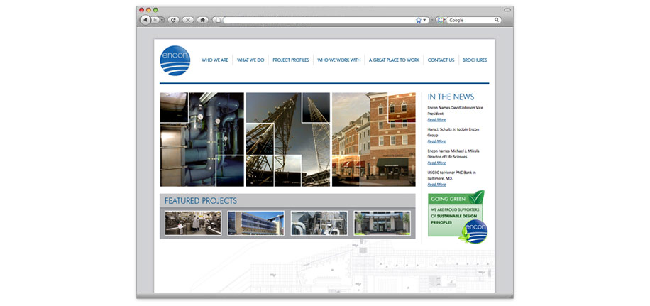 Contact Solutions Website Redesign
