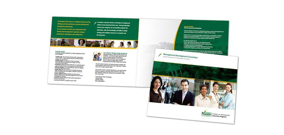 George Mason University School of Management Executive Program Folder