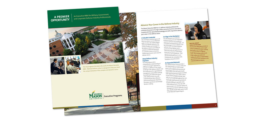 George Mason University Executive MBA Brochure