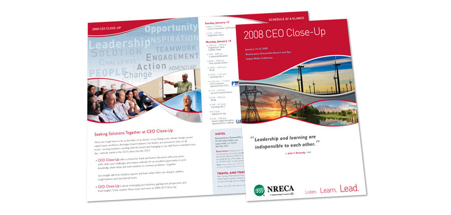 2008 CEO Closeup Conference Brochure