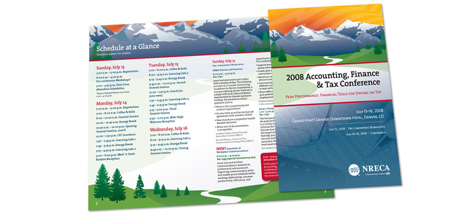 2008 Accounting, Finance & Tax Conference Brochure
