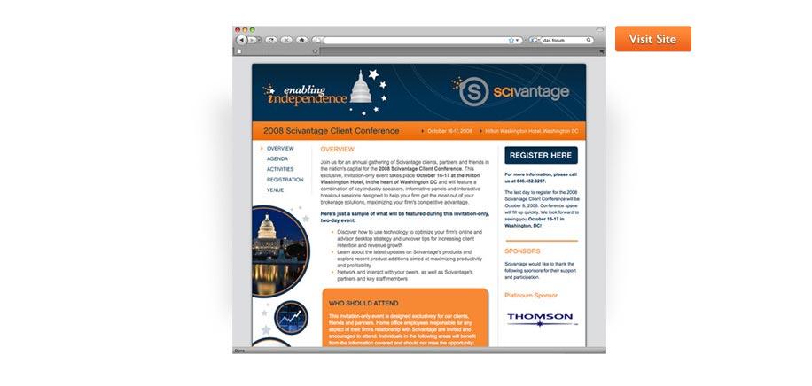 2008 Client Conference Site