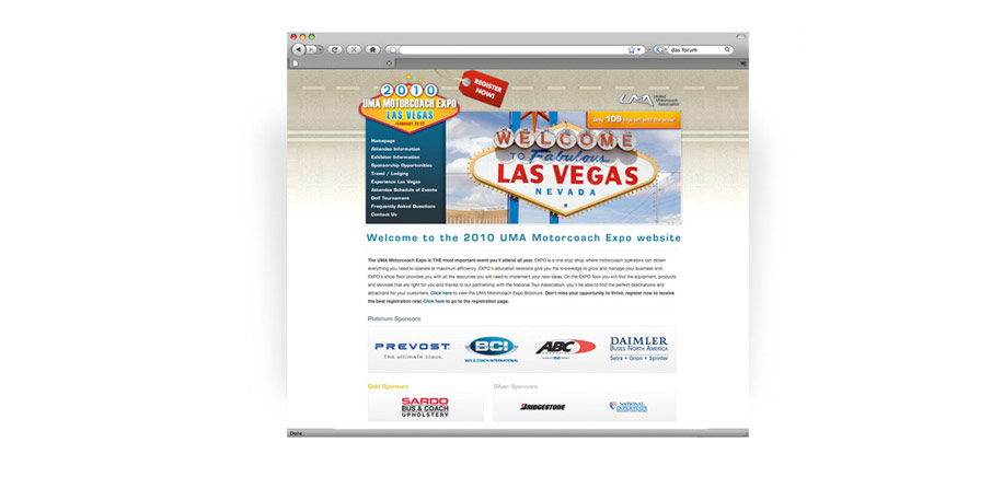 2010 Expo Website Design
