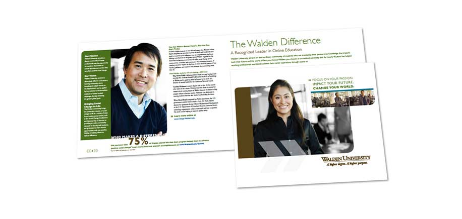 Walden University Admissions Brochure