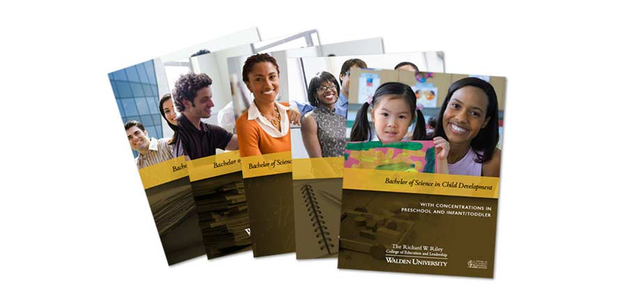 Walden University School Program Brochure Series