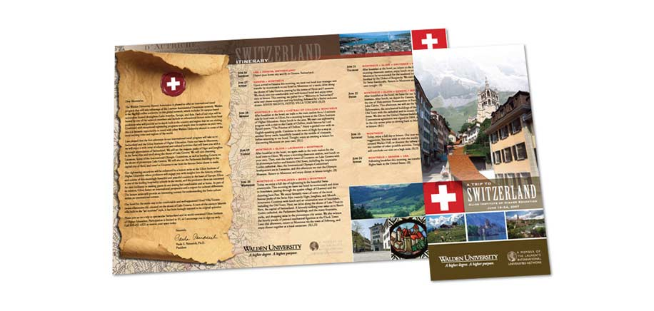 Walden University Alumni Switzerland Brochure