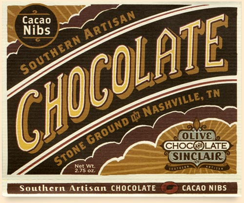 chocolate-label