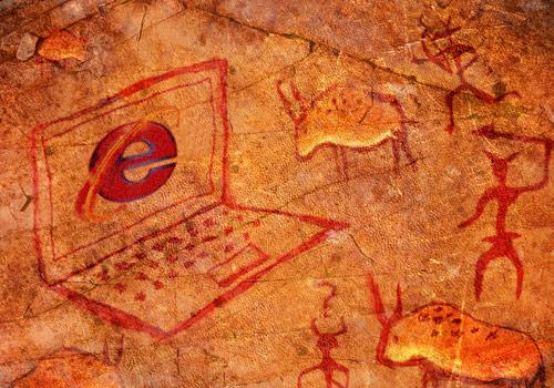 prehistoric-internet-explorer