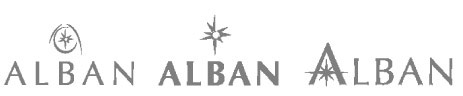 The Alban branding evolution.